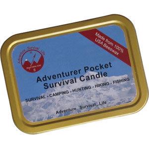 Adventurer Pocket Survival Candle