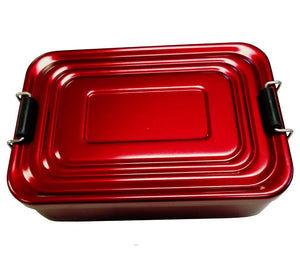 Adventurer Aluminum Survival Kit Box - Red
