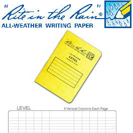 All Weather Level Pocket Notebook