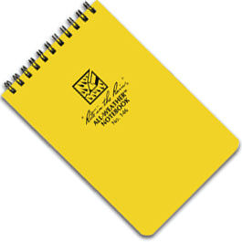 All Weather Hip Pocket Notebook 146