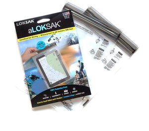 "aLOKSAK 6"" x 9"" (2 Pack) Element Proof Bags"