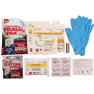 Rapid Response Trauma Pak with QuikClot by Adventure Medical Kits