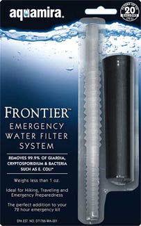 Frontier Emergency Water Filter