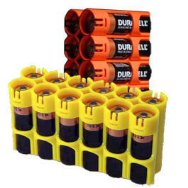 Powerpax 12 Pack Battery Caddy