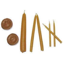 Beeswax Survival Candles
