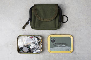 Best Glide ASE Military Scout Pocket Survival Tin
