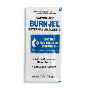 Water Jel's Burn Jel in 3.5 Gram (1/8 oz) Dose Packet