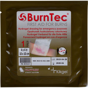 Burntec Burn Dressing - 4 x 4 inches (NSN: 6510-01-631-1883)
