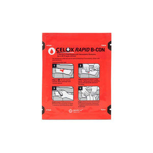 Celox Rapid B-Con Z Folded Hemostatic Gauze (3 inch by 2 feet)