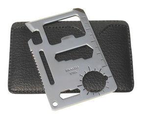 Credit Card Survival Tool / Pocket Camper and Survival Tool