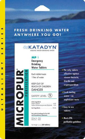 Micropur Water Purification Tablets - Katadyn