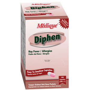 Diphen Allergy Tablets
