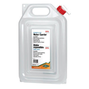 Expandable 2 Gallon Water Carrier