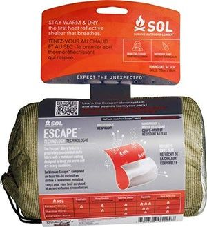 Escape Bivvy (OD Green) by Survive Outdoors Longer (SOL)