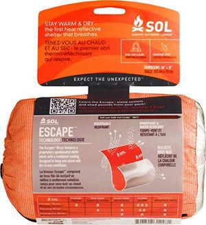 Escape Bivvy (Orange) by Survive Outdoors Longer (SOL)