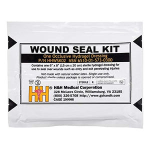 Wound Seal Kit by H & H Medical (NSN: 6510-01-573-0300)