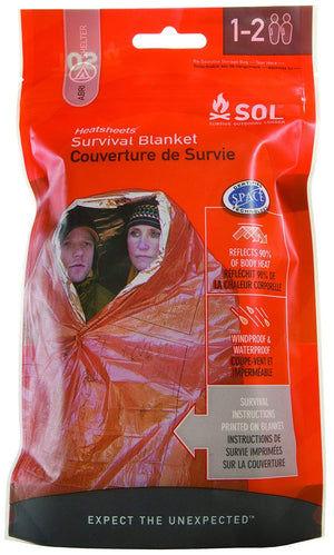 Heatsheet® Two Person Survival Blanket by Survive Outdoors Longer (SOL)