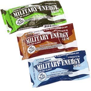 Military Energy Gum