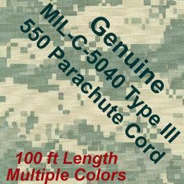 Genuine Military Issue Parachute Cord