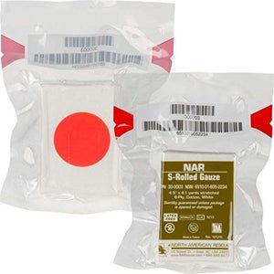 S-Rolled Gauze by North American Rescue (NSN: 6510-01-605-2234)