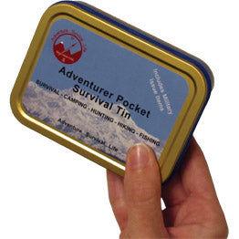 Adventurer Pocket Survival Tin