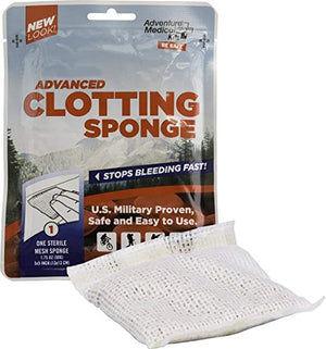QuikClot Advanced Clotting Sponge - 50 gram
