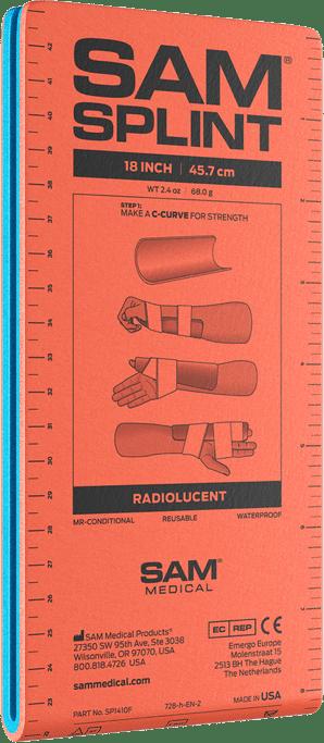 "SAM Splint 18"" Flat Fold (Junior) by Sam Medical"