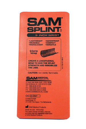 "SAM Splint 9"" Flat Fold by Sam Medical"