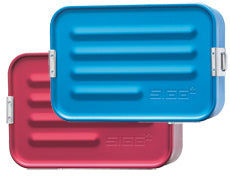 Medium Sigg Aluminum Survival Kit Box - Red
