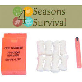 Spark Lite Aviation Survival Fire Starter - Four Seasons Survival