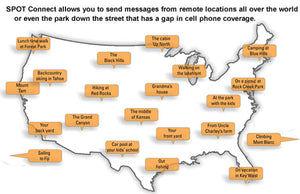 SPOT Connect GPS Messenger