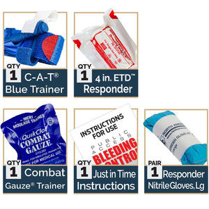 Stop the Bleed Trainer Kit by North American Rescue