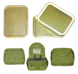 Survival Kit Tin and Personal Survival Kit Tin Holder - Best Glide ASE