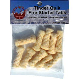 Adventurer Tinder Quik Fire Tabs