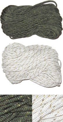 MIL-C-5040 Type 1A Survival Cord (100 Ft Camo Green) - E.L. Wood Braiding Co.