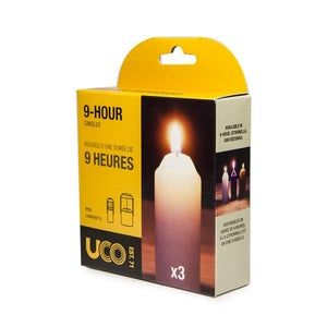 9 Hour Candles (3 Pack) by UCO
