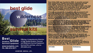Wilderness Survivor Survival Kit