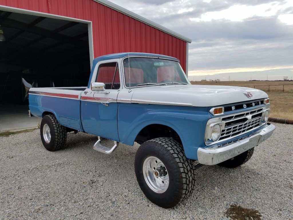 1966 Ford F 250 Camper Special