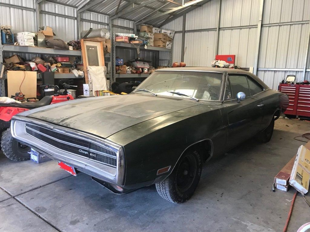1970 Dodge Charger Vinyl Top Chrome Package