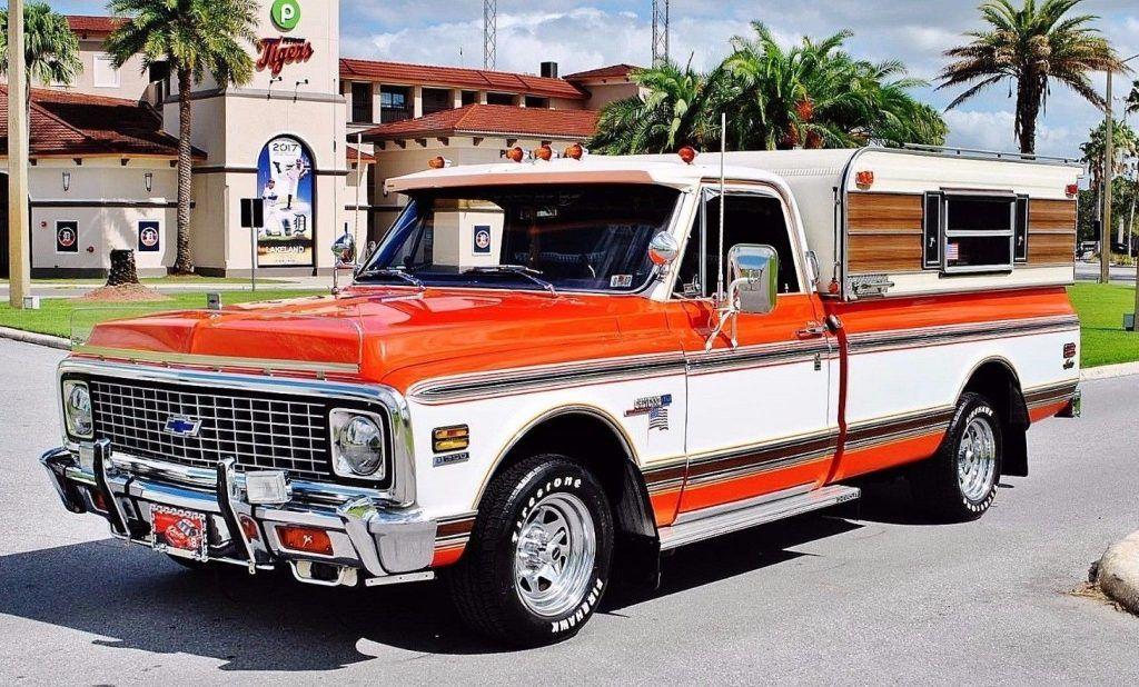 1972 Chevrolet C 10 Custom Pickup Fully Restored Show Truck
