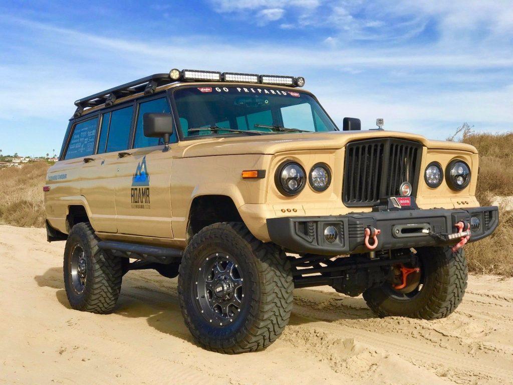 1987 Jeep Grand Wagoneer SEMA