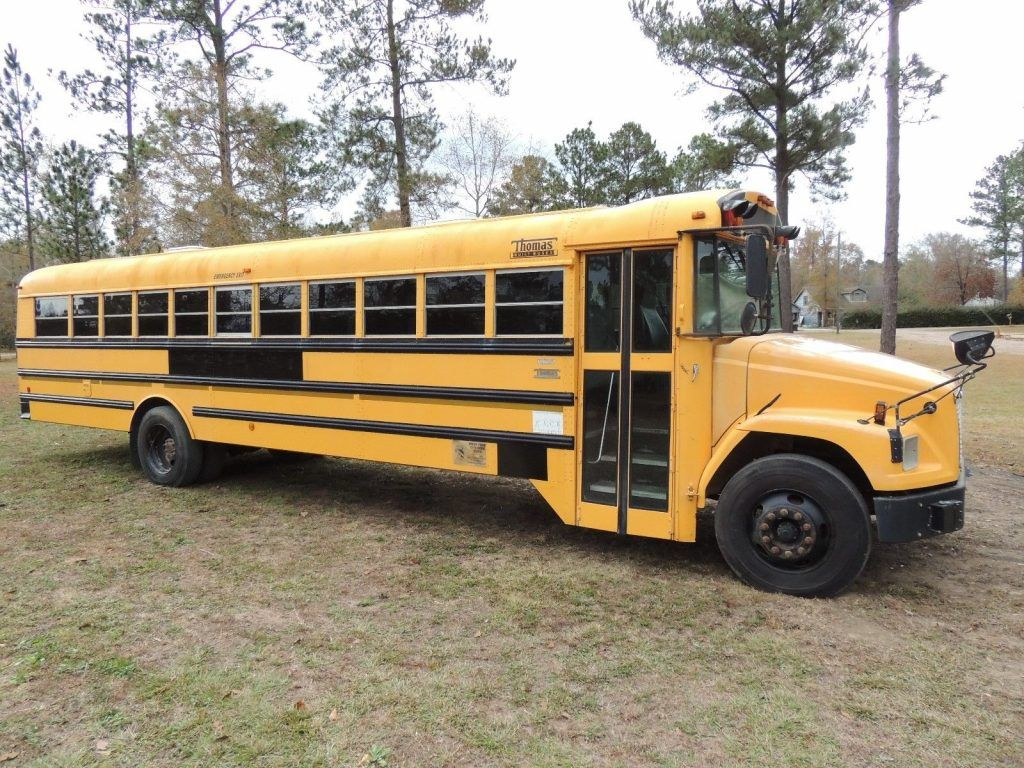 Freightliner School Bus Caterpiller 7.2 Liter Diesel