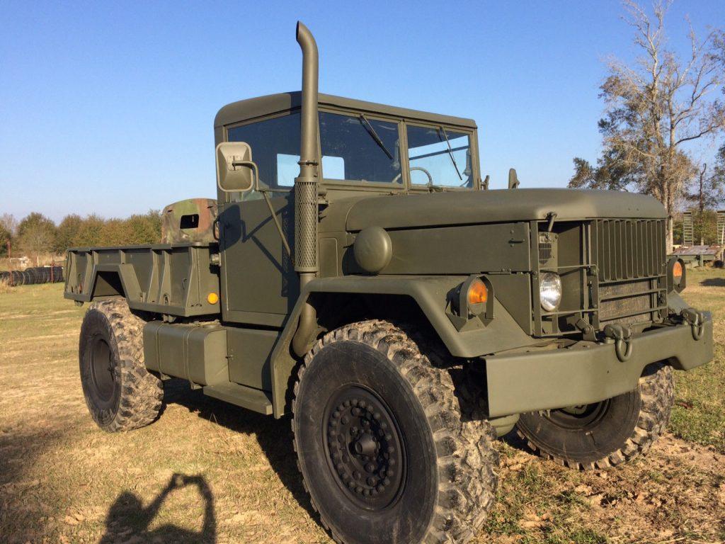 Kaiser Bobbed Deuce & a HALF Military Truck