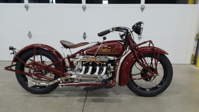1930 Indian 4 Cylinder Motorcycle 402