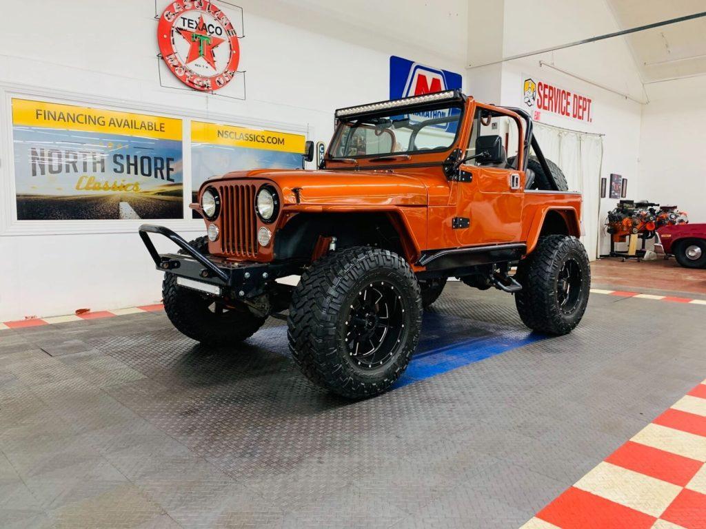 1986 Jeep CJ Custom Build 3.4L Vortec SWAP