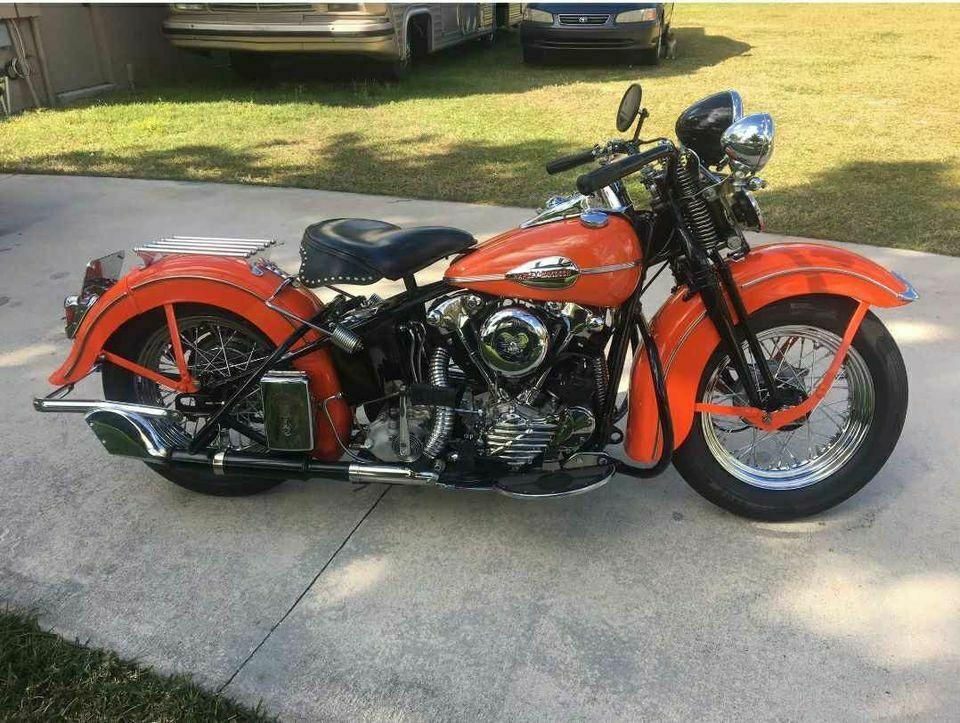 1940 Harley Davidson FL Knucklehead