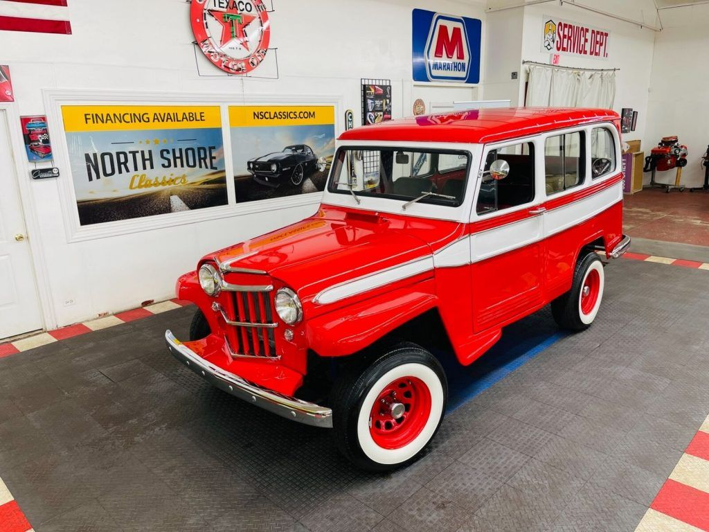 1961 Willys Jeep Wagon SEE Video