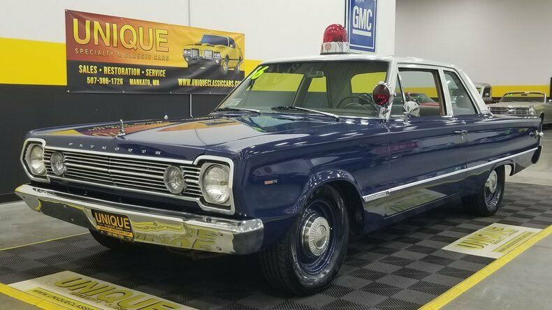 1966 Plymouth Belvedere 2dr Police Car 383