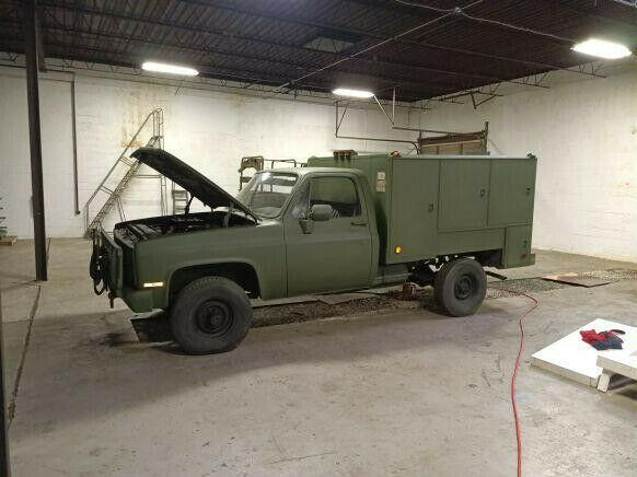 1985 Chevrolet Military M1008 4×4 1 Ton Truck