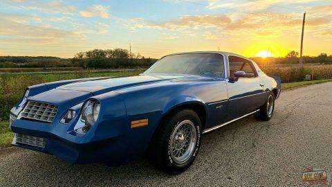 1978 Chevrolet Camaro LT 305 V8 4 Speed POSI F41 63,500 Miles SURVIVOR for sale